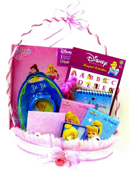 KGB9  ''Princess Playtime'' Gift Basket in Oklahoma City OK, Array of Flowers & Gifts