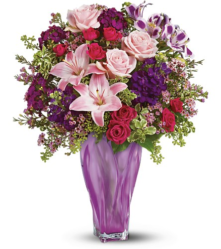 Teleflora's Lavender Elegance Bouquet in Oklahoma City OK, Array of Flowers & Gifts