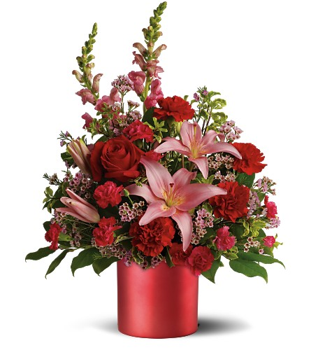 Teleflora's Red Romance Bouquet in Drayton ON, Blooming Dale's