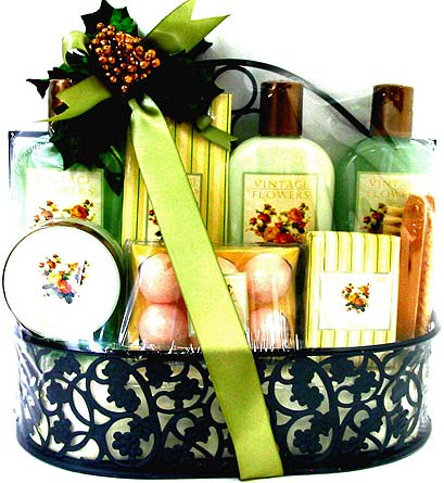 XGB119 ''Weekend Spa'' Bath & Body Gift Basket in Oklahoma City OK, Array of Flowers & Gifts