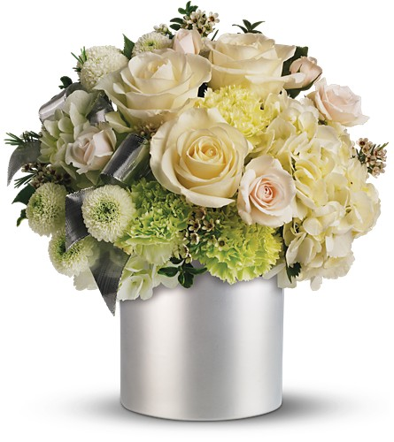 Teleflora's Silver Moon Bouquet in Liverpool NY, Creative Florist