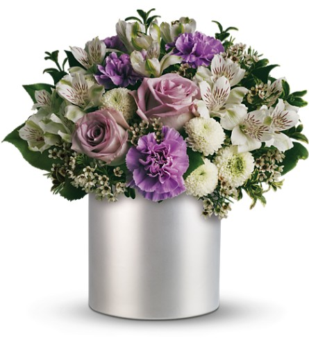 Teleflora's Silver Mist Bouquet in Liverpool NY, Creative Florist