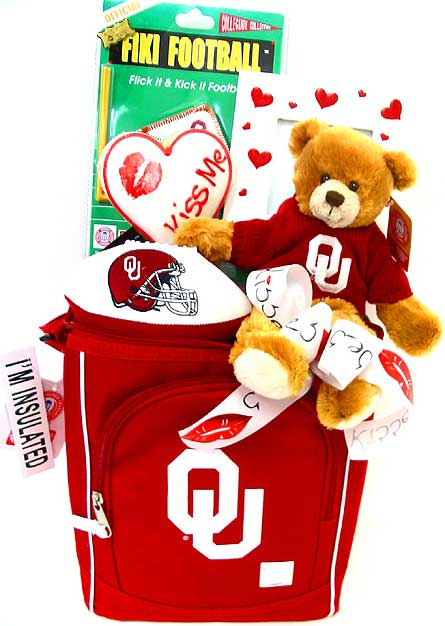 VGB225  ''Sooner Kisses'' Gift Bouquet in Oklahoma City OK, Array of Flowers & Gifts