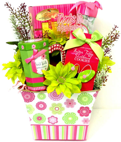 GF139 ''Gourmet Gala'' Gift Bouquet in Oklahoma City OK, Array of Flowers & Gifts