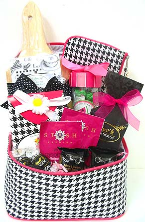 GB300 ''Simply the Best'' Food & Gift Basket in Oklahoma City OK, Array of Flowers & Gifts