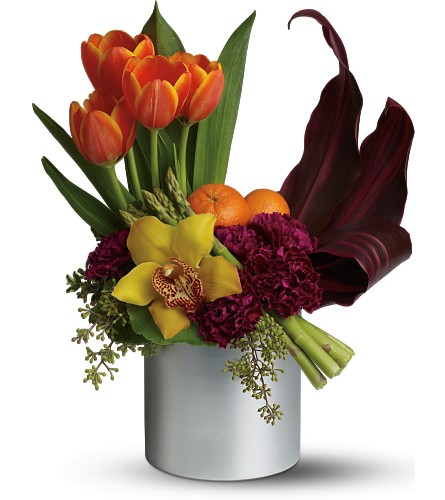 Teleflora's Top Chef Kitchen Connoisseur in Liverpool NY, Creative Florist