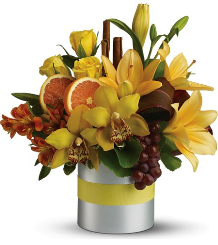 View Larger Teleflora S Top Chef Citrus In Olean Ny Uptown Florist