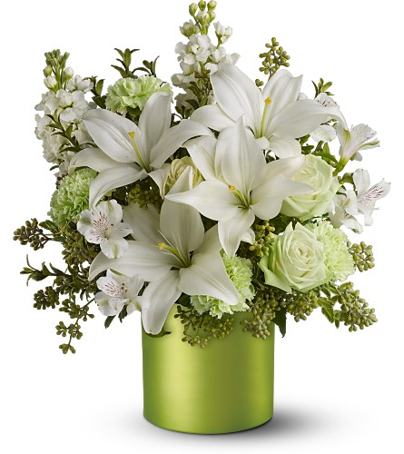 Teleflora's Sea Spray - Deluxe in Liverpool NY, Creative Florist