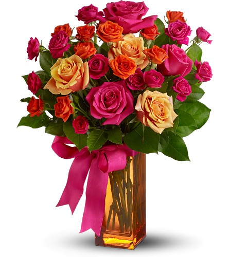 Teleflora's Sunset Kiss in London ON, Lovebird Flowers Inc