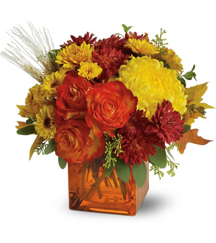 Teleflora's Autumn Expression in San Clemente CA, Beach City Florist