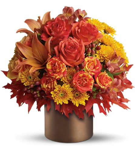 Teleflora's Color-fall in Greenwood Village CO, DTC Custom Floral