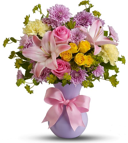 Teleflora's Perfectly Pastel in London ON, Daisy Flowers