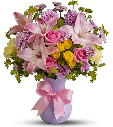 Teleflora's Perfectly Pastel - Deluxe in Hendersonville TN, Brown's Florist