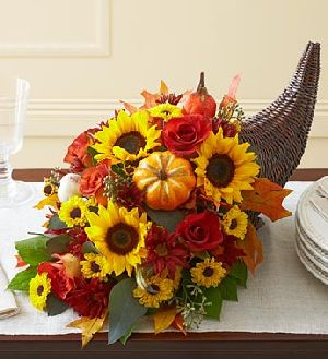 Fresh Flower Cornucopia in Sayville NY, Sayville Flowers Inc