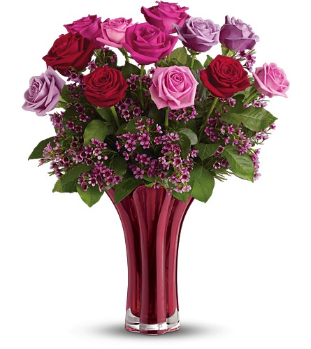 Teleflora's Ruby Nights Bouquet in Tampa FL, Moates Florist