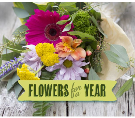 Flowers for a Year in Oshkosh WI, House of Flowers