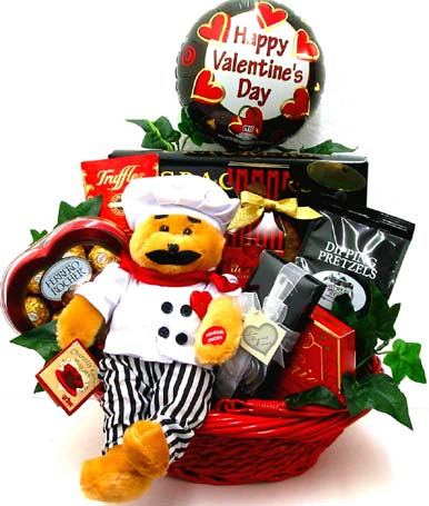 VGF40 ''That's Amore' '' Singing Gourmet Basket in Oklahoma City OK, Array of Flowers & Gifts