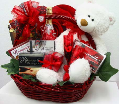 GB307 ''Romantic Nights'' Gift Basket in Oklahoma City OK, Array of Flowers & Gifts