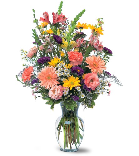 Timeless Pastels in Naples FL, Gene's 5th Ave Florist