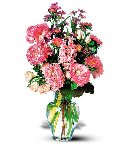 Pink Spring Bouquet in Campbell CA, Citti's Florists