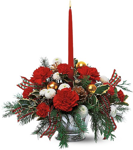 Celebrate the Season Centerpiece in Evansville IN, Cottage Florist & Gifts