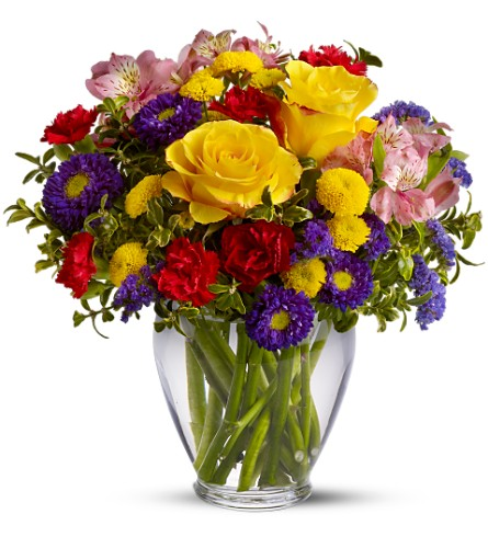 Brighten Your Day in Lakehurst NJ, Colonial Bouquet