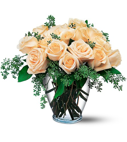White Roses in Boynton Beach FL, Boynton Villager Florist