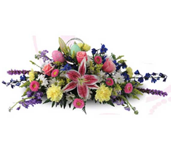 Easter Centerpiece in usa-send-flowers NJ, Stanley's America's Florist & Gifts