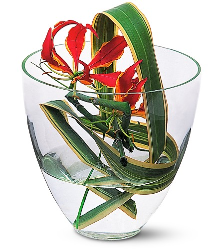 Gloriosa Under Glass in Sayville NY, Sayville Flowers Inc