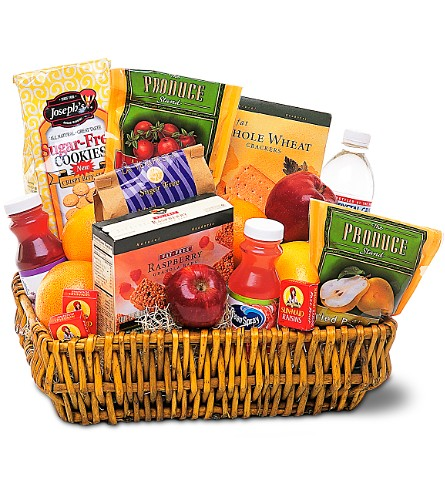 Healthy Gourmet Basket in Sayville NY, Sayville Flowers Inc