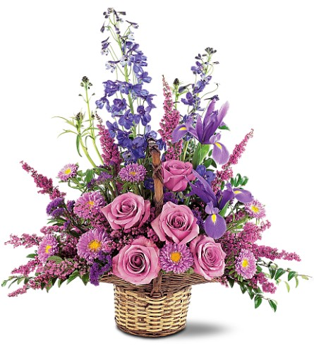 Gentle Comfort Basket in Oklahoma City OK, Array of Flowers & Gifts