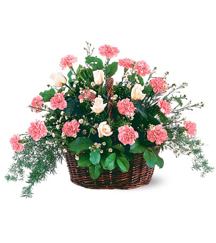 Pink Reverence Arrangement in Oklahoma City OK, Capitol Hill Florist and Gifts