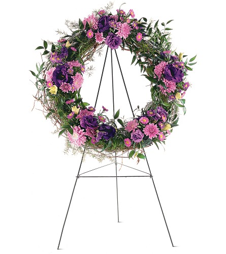 Grapevine Wreath in DeKalb IL, Glidden Campus Florist & Greenhouse
