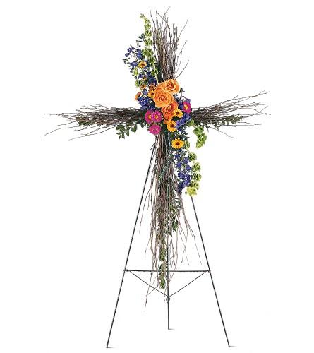Birch compassion cross in bonita springs fl bonita blooms flower bonita springs fl florist home birch compassion cross flowers view larger mightylinksfo