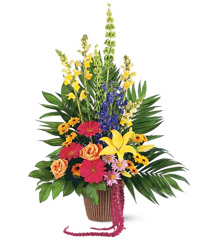Celebration of Life Arrangement in Albany NY, Emil J. Nagengast Florist