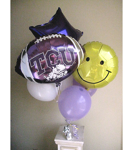 Balloon Bouquet in Fort Worth TX, TCU Florist