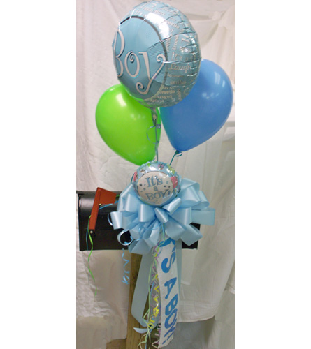 its a boy mailbox bow deluxe in nashville tn the bellevue florist