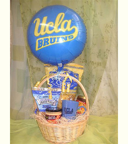 UCLA Care Basket in West Los Angeles CA, Westwood Flower Garden