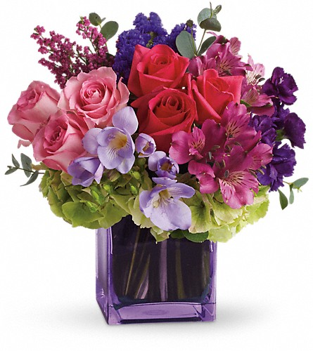 Exquisite Beauty by Teleflora in Sevierville TN, From The Heart Flowers & Gifts