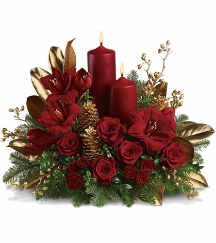 Candlelit Christmas in Huntington IN, Town & Country Flowers & Gifts
