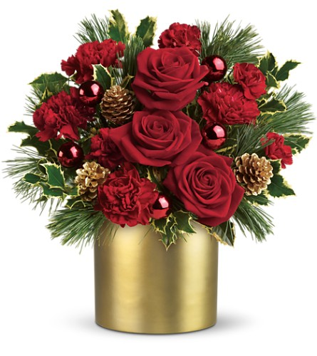 Teleflora's Holiday Elegance in Evansville IN, Cottage Florist & Gifts