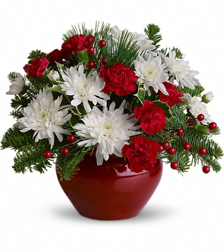 Christmas Treasure in Athens GA, Flower & Gift Basket