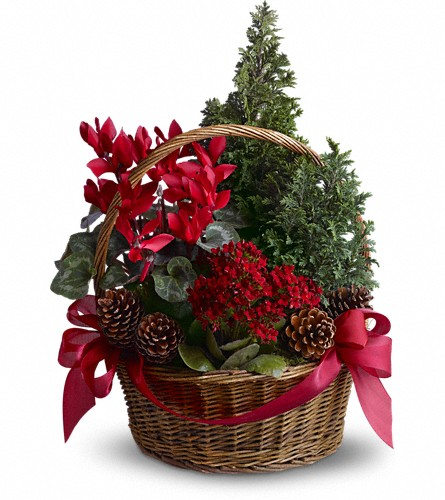 Tannenbaum Basket in Spring Lake Heights NJ, Wallflowers