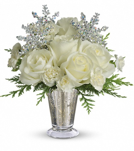 Teleflora's Winter Glow in Oakland CA, J. Miller Flowers and Gifts