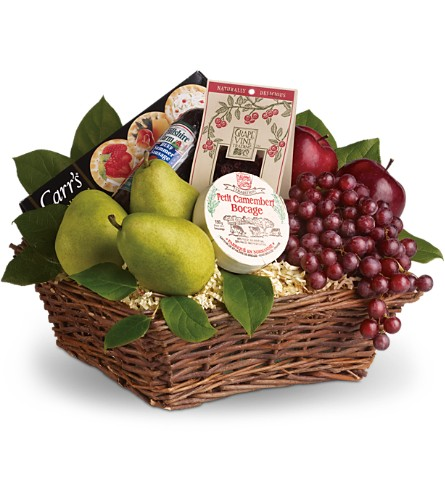 Delicious Delights Basket in Orlando FL, Elite Floral & Gift Shoppe