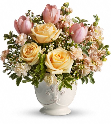 Teleflora's Peaches and Dreams in Burlington NJ, Stein Your Florist