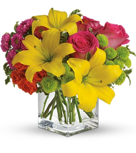 Teleflora's Sunsplash in Renton WA, Cugini Florists