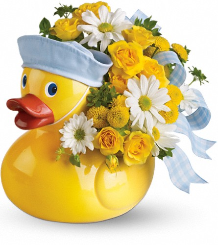 Teleflora's Ducky Delight - Boy in Scarborough ON, Flowers in West Hill Inc.