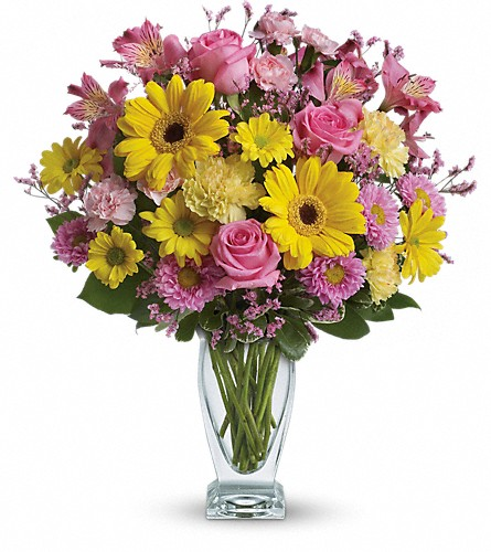 Teleflora's Dazzling Day Bouquet in St. Louis Park MN, Linsk Flowers