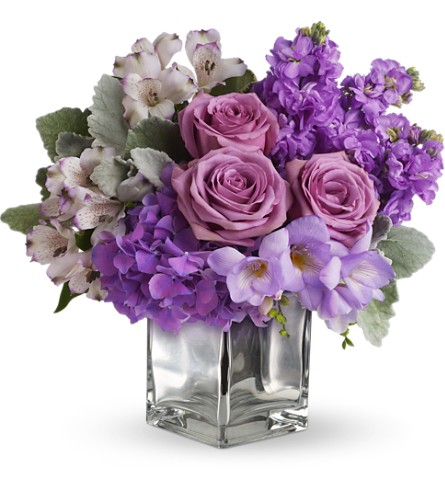 Sweet as Sugar by Teleflora in Laurel MD, Rainbow Florist & Delectables, Inc.